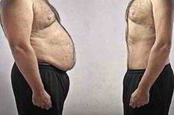 Фото мужчины до и после применения водорослевого коктейля detox