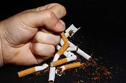 Прием Табамекса от курения устраняет физическую зависимость