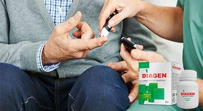 Препарат Diagen от диабета.